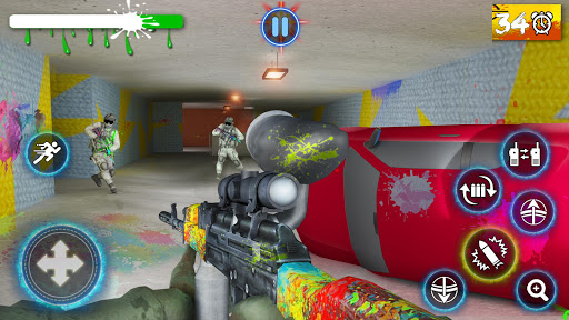 Paintball Arena Shooting: Shooter Survivor Battle apkpoly screenshots 4