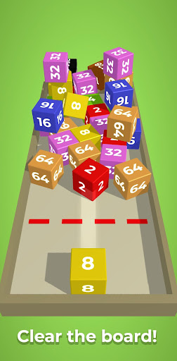 Chain Cube: 2048 3D merge game filehippodl screenshot 2