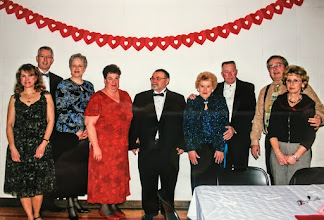 Photo: JRDC 30th Anniversay NEW Members: l-r, Ginger Bordner, Marily & John Corbin, Marylou and Joe Pumroy, Alice & Don Dunford, (tba)