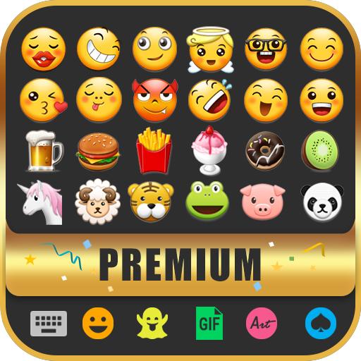 Cute Emoji Keyboard Premium - GIF, Emoticons