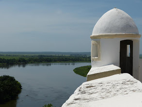 Photo: Watchtower and the magnificent view on the plain.