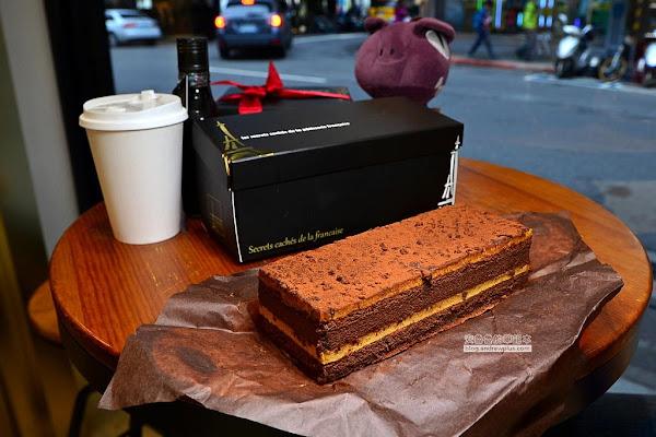 法國的秘密甜點-下午茶時光來吃個鹽之花焦糖巧克力蛋糕&卡斯特洛藍起士蛋糕搭配每日限量冰滴咖啡,老饕新品限量販售中,團購與彌月蛋糕推薦