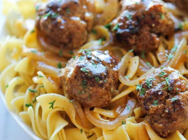 Salisbury Steak Meatballs Recipe