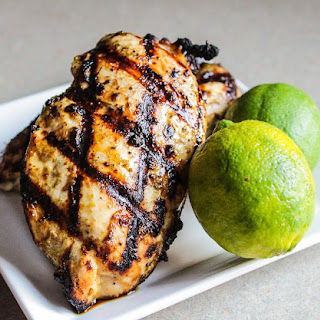 Honey-Lime Marinated Grilled Chicken.