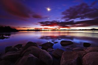 Photo: Twilight at Lake Tahoe