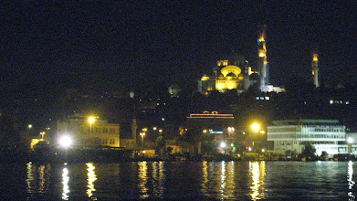 Photo: Istanbul by night