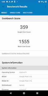 Geekbench 5 Screenshot