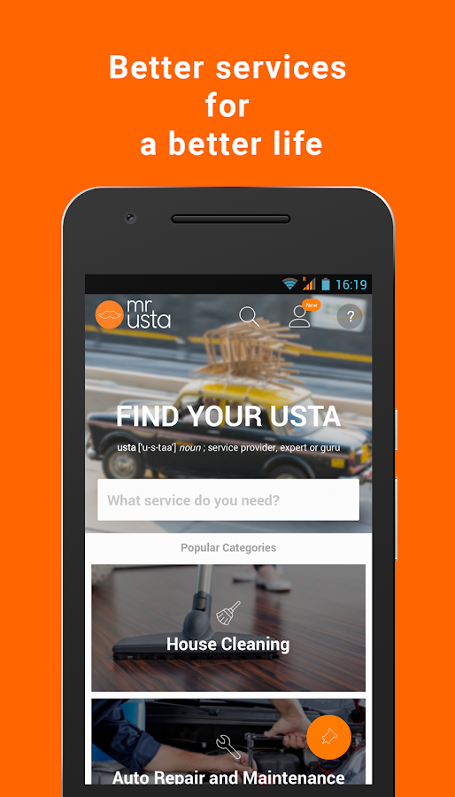 mrUsta - Better services- screenshot