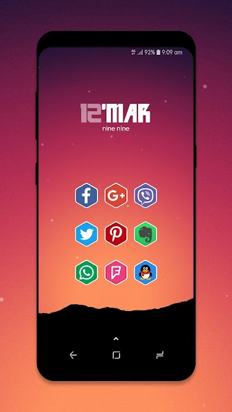 Hexo - Icon Pack Screenshot Image