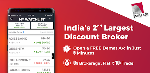 5paisa - Share Trading & Mutual Funds App - Apps on Google Play