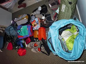 Photo: Liz's personal gear