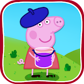 Download Peppa kids mini games APK to PC