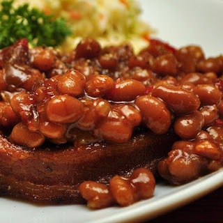 Crock-Pot Grandma's Famous Baked Beans.