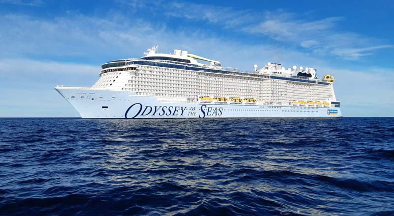 Odyssey of the Seas' launch was postponed because some crew members tested positive for COVID-19.