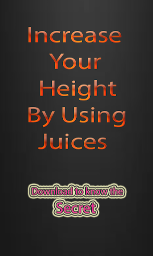 Increase Height Using Juices