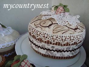 Photo: torta decorativa cioccolato