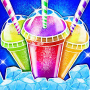 Rainbow Ice Slushy Maker: Frozen Dessert