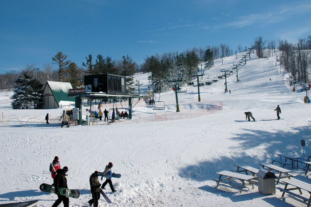 snowboard scene