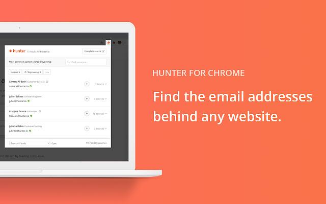 Hunter - Email Finder Extension