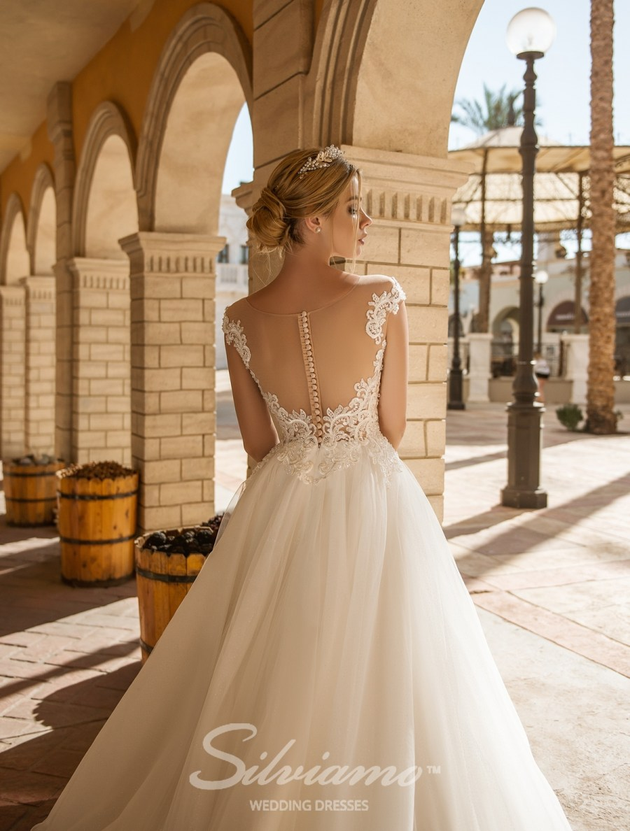 свадебные платья сильвиамо 2018