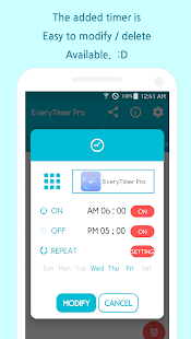 Every Timer Pro - Auto on off alarm switch timer. - náhled