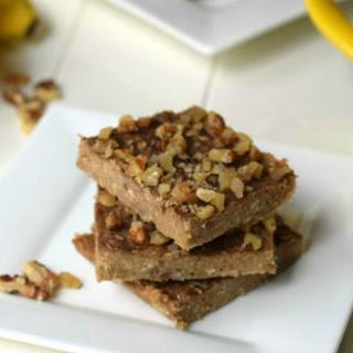 3 Ingredient Peanut Butter Banana Bars Recipe