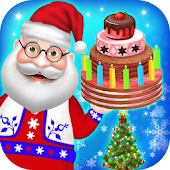 Christmas Holiday Activities - DressUp, Tree, Cake