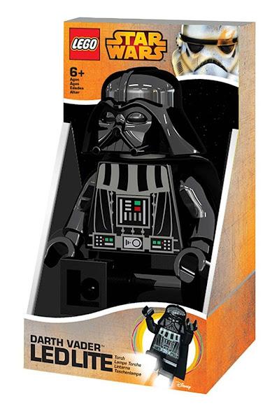 Imagen de contenido Linterna 20 Cm. Lego® Darth Vader