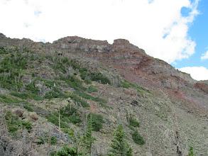 Photo: Mount Marvine summit on the right