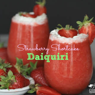 Strawberry Shortcake Daiquiri.