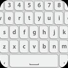 白色主題 键盘 icon