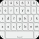 キーボード 無料 白 - Androidアプリ
