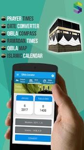 Qibla Locator: Prayer Times, Azan, Date Converter - náhled
