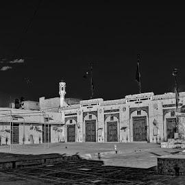 by Mohsin Raza - Black & White Buildings & Architecture