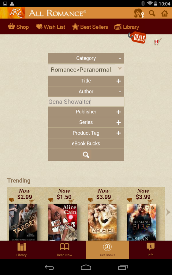 All romance reader ebooks android apps on google play all romance reader ebooks screenshot fandeluxe Document