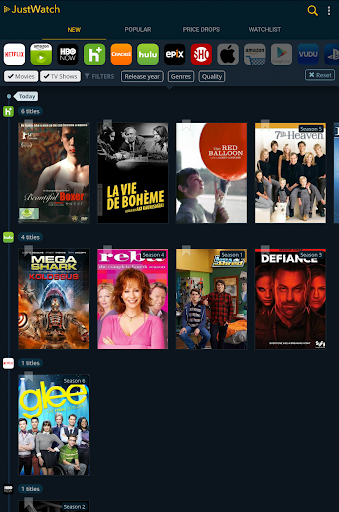 JustWatch - Search Engine for Streaming and Cinema 0.22.3 screenshots 7