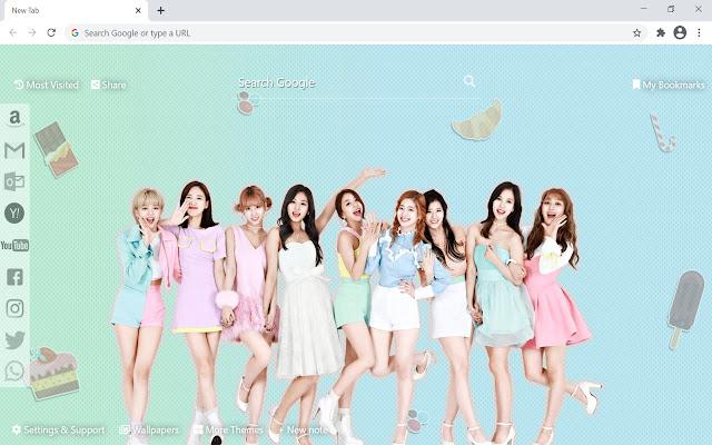 Twice Kpop Wallpaper HD New Tab