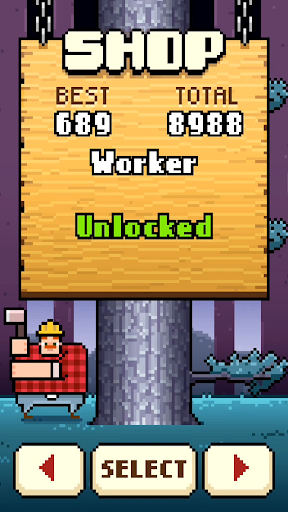 Timberman screenshots 3