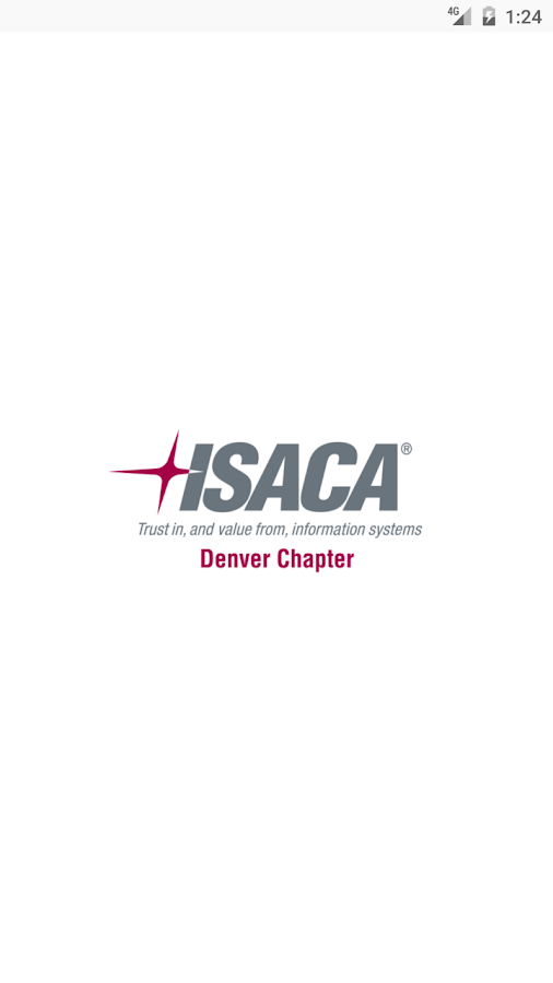 ISACA Denver Chapter App- screenshot
