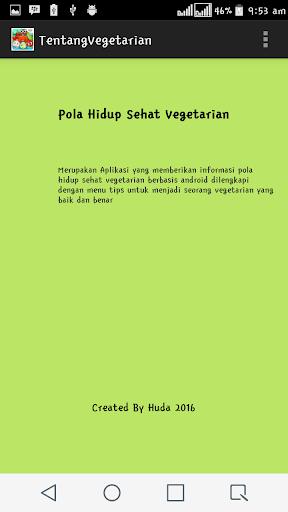 Pola Hidup Sehat Vegetarian 1.0 screenshots 3