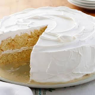 Layered Lemon Tres Leches Cake.