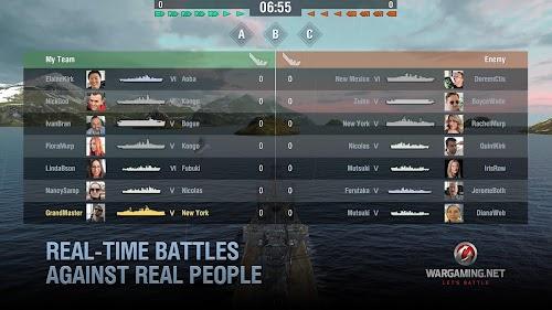 Screenshot 4 World of Warships Blitz: Multiplayer Navy War Game 1.9.0 APK MOD