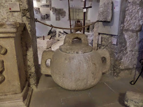 Photo: This was used to store olive oil centuries ago.