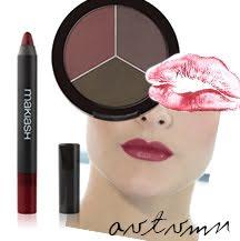 Autumn/Fall makeup look