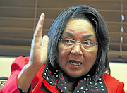 Minister of public works and infrastructure Patricia de Lille defended herself on Monday against calls for her to step down.