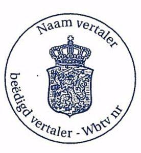 Присяжный перевод для Нидерландов
