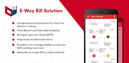 E-Way Bill - Aplicaciones en Google Play