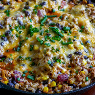 Skillet Mexican Casserole
