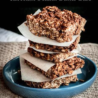 Chocolate Peanut Butter Bars (no added sugar)