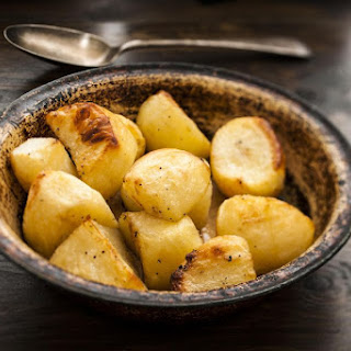 Butter Roasted Potatoes.